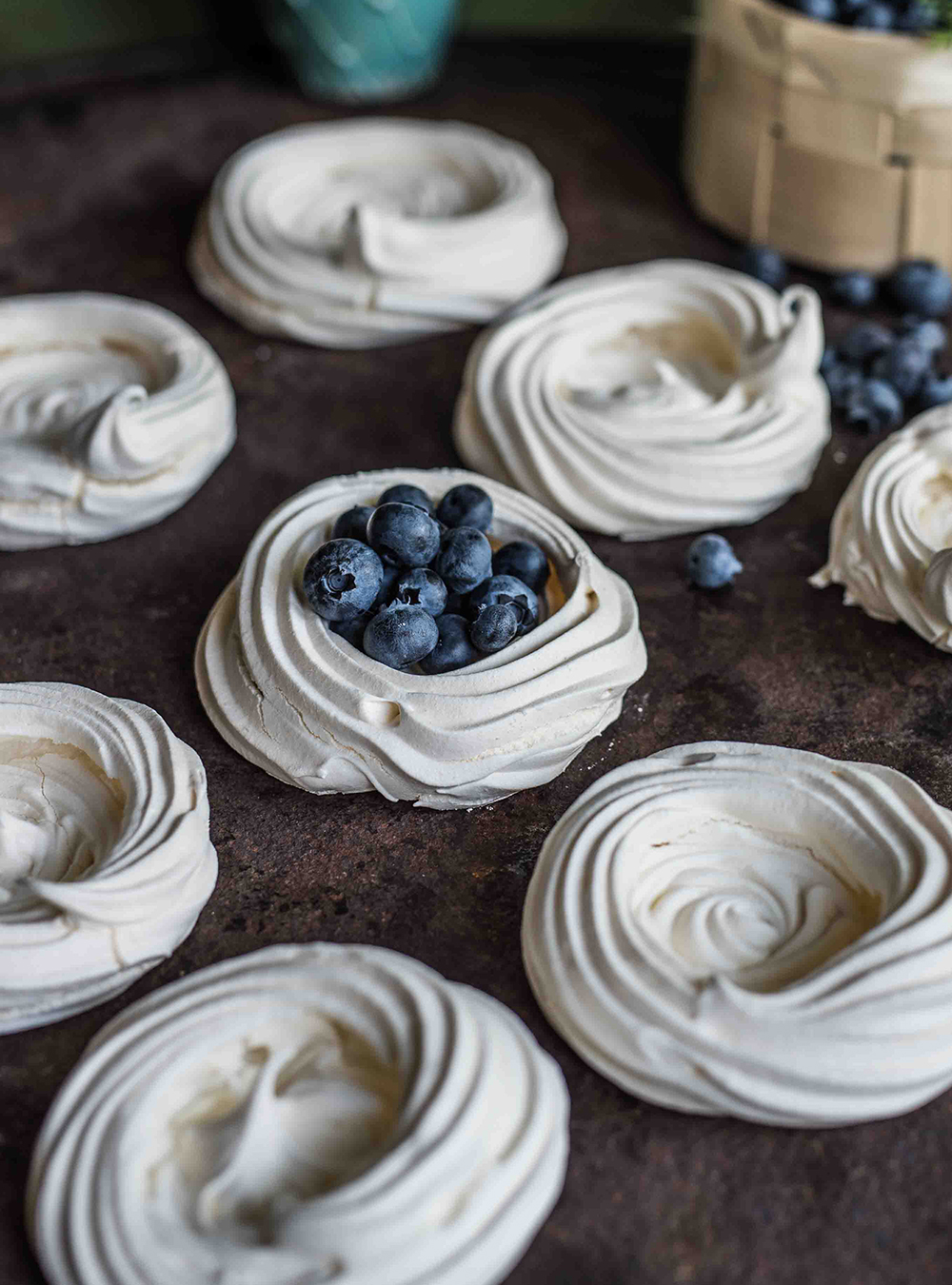 einfache baisers meringue — rezepte